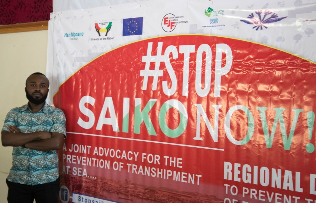 Transcript of Facebook Live Text Interview on 'Saiko' with Cephas Asare